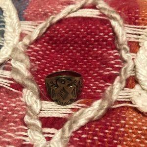 Sterling Silver Navajo Ring